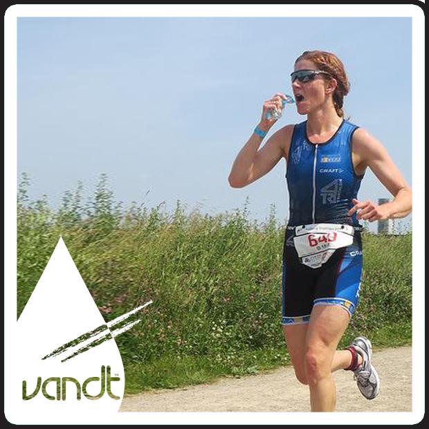 VANDT vandposer til løbeturen - Reklamevand til sport og løb samt friluftsliv